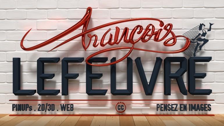 Logo Lefeuvre-François 2016 en 3d