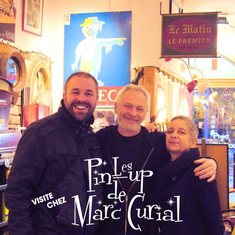 Rencontre avec Marc-Curial peintre de pin-up à Lyon
